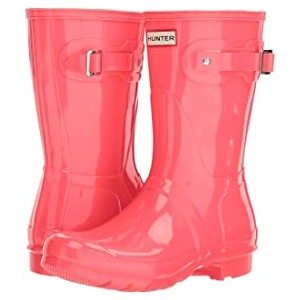 Original Short Gloss Rain Boots Hyper Pink