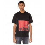 DSQUARED2 Karate Screen Print T-Shirt Black