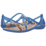 Isabella Graphic Strappy Sandal Blue Jean/Gold