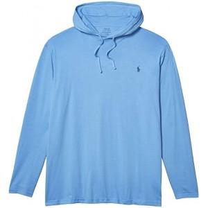 Polo Ralph Lauren Big & Tall Big & Tall Cotton Jersey Hooded T-Shirt Cabana Blue/C7357