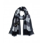 Party Plaid Printed Oblong Scarf