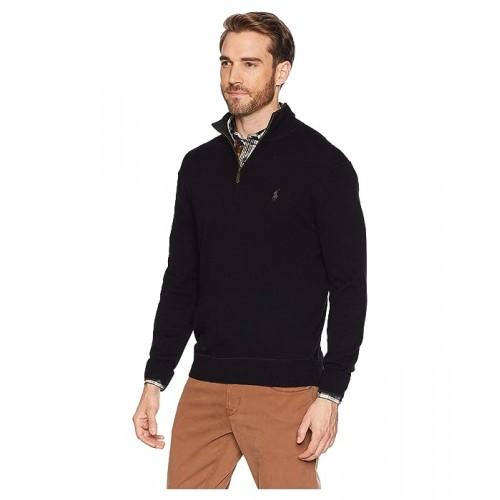 폴로 Washable Cashmere 1/2 Zip Sweater