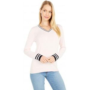 Tommy Hilfiger Tipped Ivy Sweater Ballerina Pink