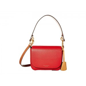 Perry Flap Crossbody Red Apple