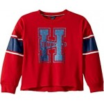 Big H Crew French Terry Sweatshirt (Big Kids)