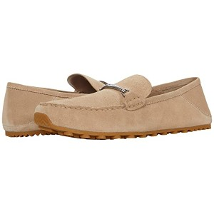 COACH Collapsible Heel Leather Driver Oat