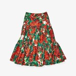Dolce & Gabbana Kids Skirt (Little Kids) Geranium Print