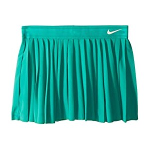Victory Tennis Skirt (Little Kids/Big Kids) Neptune Green/Guava Ice
