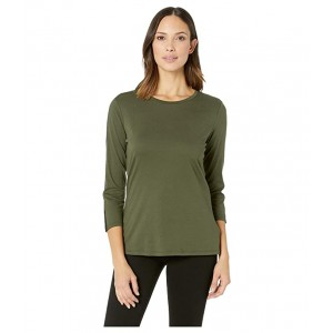 3/4 Lace Solid Top Ivy