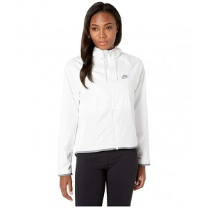 NSW Windrunner Jacket Femme White/White/Cool Grey