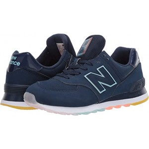 New Balance Classics 574 Outer Glow Natural Indigo/Bali Blue