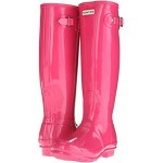 Original Tall Gloss Rain Boots Bright Cerise