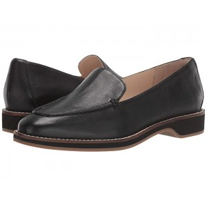 The Go-To Loafer Black Grainy Leather