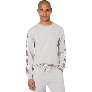 Moschino Basic Fleece Sweatshirt Grey Melange