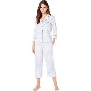 Sateen Capris Pajama Set