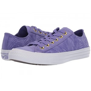 Chuck Taylor All Star Summer Palms - Ox Wild Lilac/Antique Brass/White