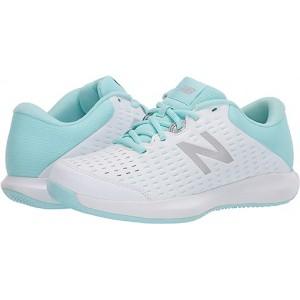 New Balance 696v4 White/Bali Blue
