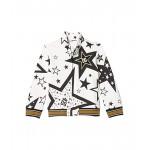 Dolce & Gabbana Kids Felpa Con Zip Zipped Cardigan (Infant) Stelle Fdo Panna