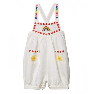 Linen All-In-One w/ Rainbow Hearts Embroidery (Infant)