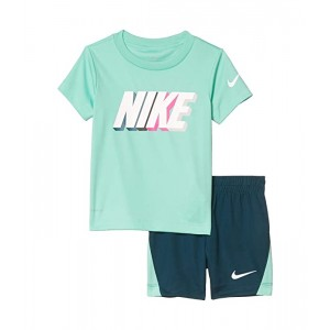 Dri-FIT Graphic T-Shirt & Shorts Two-Piece Set (Toddler)