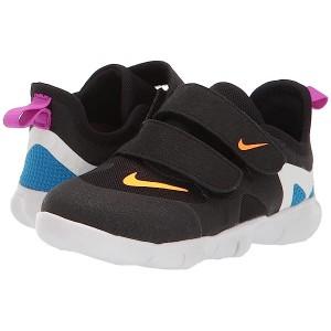 Nike Kids Free RN 5.0 (Infantu002FToddler) Black/Laser Orange/Blue Hero