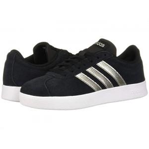 VL Court Shoes Core Black/Platinum Metallic/White