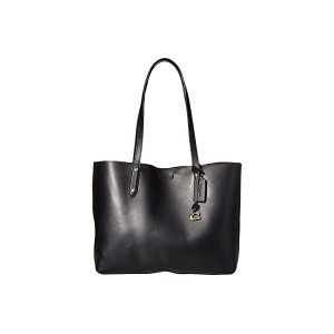 Refined Calf Leather Central Tote