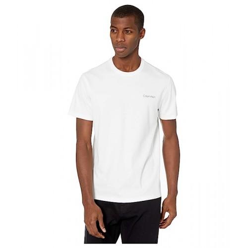 켈빈클라인 Calvin Klein Move 365 Su002FS Calvin Logo T-Shirt Brilliant White
