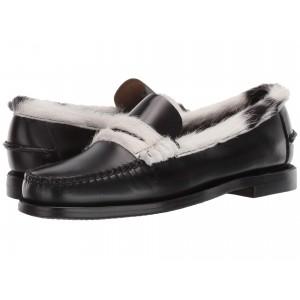 Dan Cow Collar Black/White