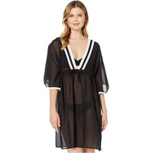 Mirage Tunic Cover-Up Black