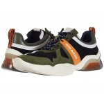 COACH Signature Mesh Tech Runner True Navy/Washed Utility