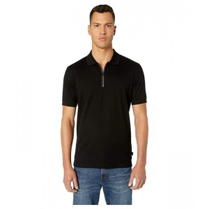Regular Fit Polo with Cycyle Stripe Zip Tape