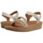 Ruffle Back-Strap Sandals Cream