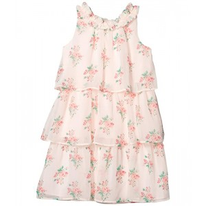 Tiered Chiffon Dress (Toddler/Little Kids/Big Kids)