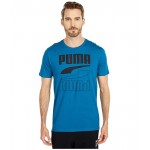PUMA Rebel Tee Digi-Blue
