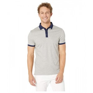 Short Sleeve Jacquard Collar Polo