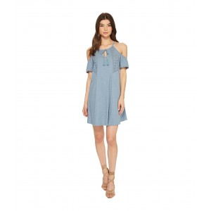Enchanted Island Dress Blue Shadow