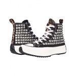 Steve Madden Shaft High-Top Sneaker Black/Stud