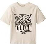 GG Feline Short Sleeve T-Shirt (Little Kids/Big Kids)