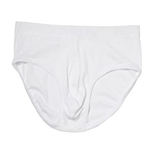 Pima Contour Pouch Brief White New Logo