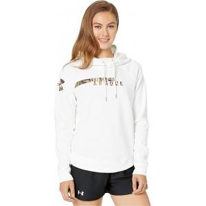 Under Armour UA Favorite Fleece Camo Logo White/UA Forest Camo