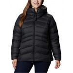Plus Size Autumn Park Down Hooded Jacket