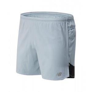 New Balance Impact Run 5-Inch Shorts Light Slate
