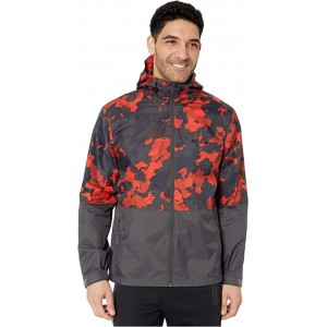 Columbia Roan Mountain Jacket Carnelian Red/Cloudy Clouds Print/Shark
