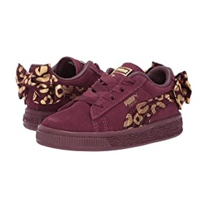 Suede Bow Athluxe AC Inf (Toddler) Fig/Puma Team Gold