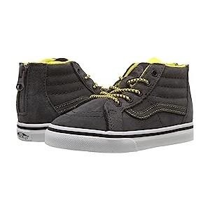 Sk8-Hi Zip (Infant/Toddler) (MTE) Yellow/Gray