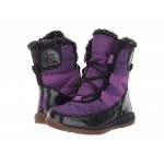 Disney X Sorel Whitney Short Frozen 2 Boot- Anna Edition (Toddler/Little Kid) Wild Iris/Black