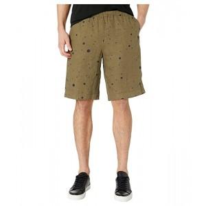 Paul Smith PS Linen Shorts Light Grey