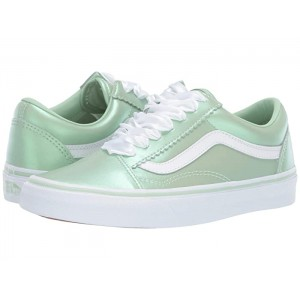 Old Skool (Pearl Suede) Pastel Green/True White