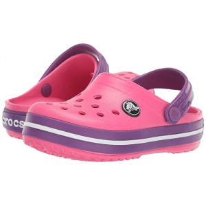 Crocband Clog (Toddler/Little Kid) Paradise Pink/Amethyst